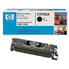 HP C9700A Картридж лазерный HP 121A черный, ресурс 1500 стр., для Color LaserJet 2500/1500