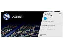 HP CF361X Картридж лазерный HP 508X голубой, ресурс 9500 стр