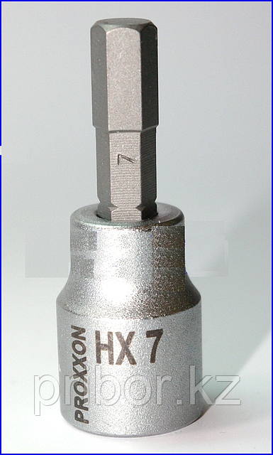 "23579 Proxxon Головка с шестигранными вставками на 3/8"", 50 мм, HX 7 мм"