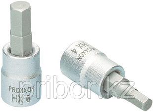 """23745 Proxxon Головка с шестигранной битой на 1/4"""", 33 мм, HX 4 мм"""