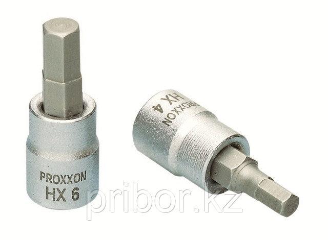 """23749 Proxxon Головка с шестигранной битой на 1/4"""", 33 мм, HX 6 мм"""