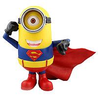 Статуэтка Гадкий Я Миньон Супермен-Стюарт Синквэй Тойс, Despicable Me Minion Stuart Superman Costume Statu