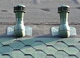 Вентиляционный выход на гибкую черепицу серый 110/300 (Vilpe Финляндия) тор, фото 2
