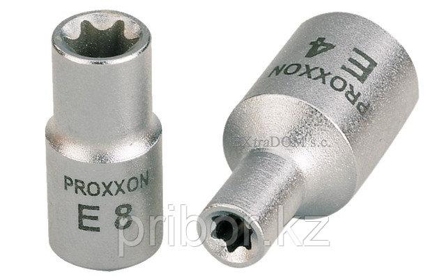 "23792 Proxxon Головка для внешней звездочки ТХ на 1/4"", E 6"