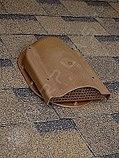 Вентиляция подкровельного пространства Wirplast (Польша) Аэратор до монтажа гибкой черепицы (графит, коричневы, фото 2