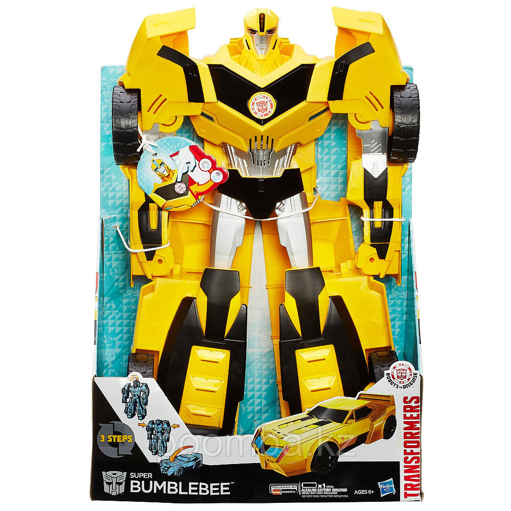 "Трансформер Robots in Disguise ""Супер Мега Бамблби"" (свет, звук)"