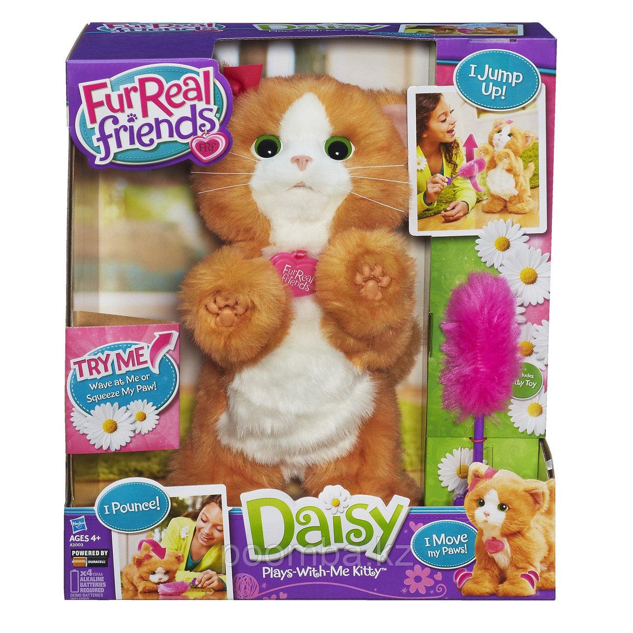 """Игривый котенок FurReal Friends """"Дэйзи"""", 35 см"""