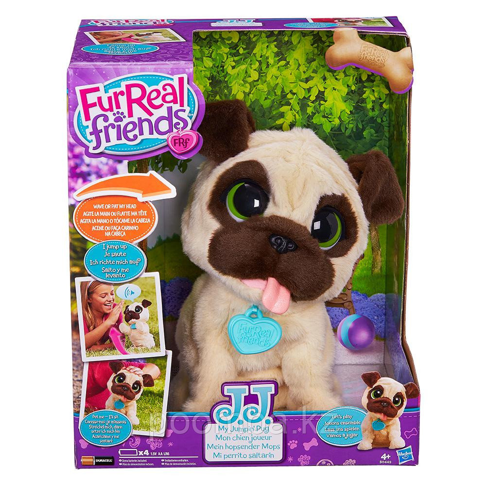 Игривый щенок FurReal Friends JJ, My Jumpin' Pug