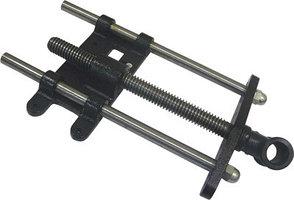 Винт для тисков, с двумя направляющими, Tr 28*5, 550/335мм, HV516