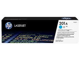 HP CF401A Картридж лазерный HP 201A голубой, ресурс 1400 стр