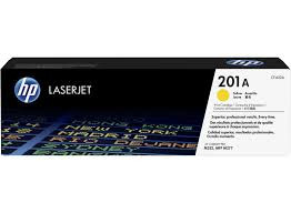 HP CF402A Картридж лазерный HP 201A желтый, ресурс 1400 стр