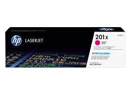 HP CF403X Картридж лазерный HP 201X Пурпурный, ресурс 2300 стр