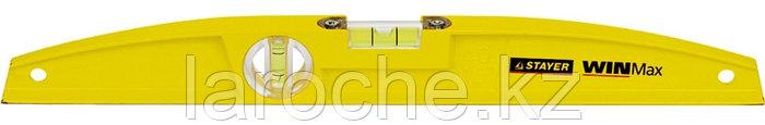 """Уровень STAYER """"PROFI"""" WINMax литой усиленный, 2 цельные противоудар ампулы, фрезерованая поверхность, 40 см"""