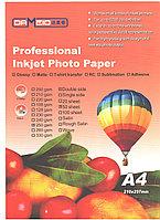 Фотобумага А4 для прин. 250 гр.Dameid 50л. gloss.двух.
