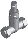 Поколение 8. Перепускной клапан и электроприводы для смесительных групп МК/Настраиваемый перепускной клапан