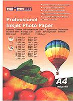 Фотобумага А4 для принт.самоклейка 135гр. Dameid 50л.