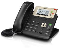 Yealink SIP-T23G SIP-телефон, 3 линии, PoE, GigE, адаптер питания в комплекте