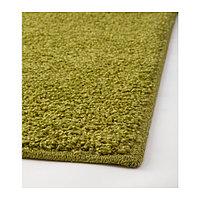 АЛЛЕРСЛЕВ Ковер, длинный ворс, светло-зеленый, 57х120 см, фото 1