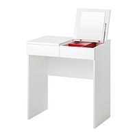 Туалетный столик БРИМНЭС белый ИКЕА, IKEA, фото 1