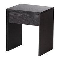 Табурет РАНСБИ черно-коричневый ИКЕА, IKEA