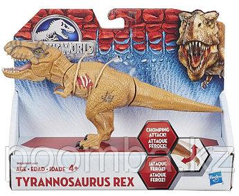"""Динозавр-Плохиш """"Мир Юрского периода"""" (свет, звук), 50 см- Тираннозавр Рекс"""