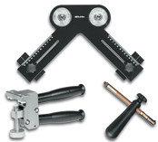 Набор инструментов для угловых вырезов для стекла 3-15 мм.