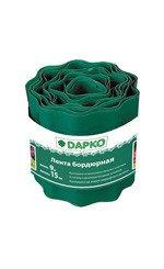 """Лента бордюрная зелёная 9 м*15см """"DAPKO"""""""