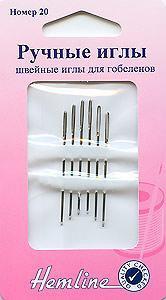 Ручные иглы для гобеленов № 20 Hemline