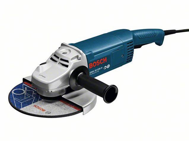Угловая шлифмашина Bosch GWS 20-230 Н Professional (0601850107)