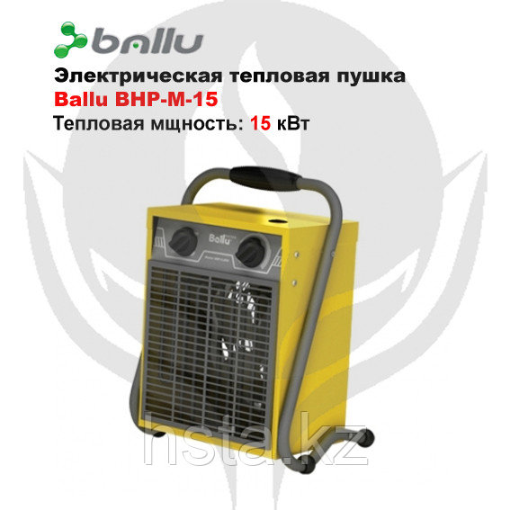 Электрическая тепловая пушка Ballu BHP-M-15