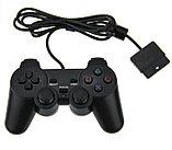 Игровой джойстик  для PS2 + двойной вибратор , фото 2