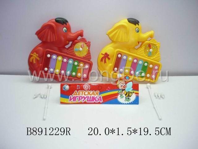 """Ксилофон """"Детская игрушка"""" B891229R Торговая марка: TONGDE."""