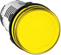 Сигнальная лампа 22ММ 230В желтая