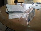 Таблички на стол ил акрила, фото 6