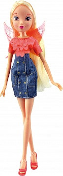 "Кукла Winx Club ""Деним"" базовые куклы. Кукла Стелла"