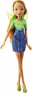 """Кукла Winx Club """"Деним"""" базовые куклы. Кукла Флора"""