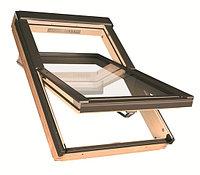 Мансардное окно 66х98 FAKRO в комплекте с окладом для гибкой черепицы черепицы +77075705151