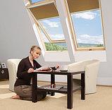 Мансардное окно 66х118 FAKRO STANDART в комплекте с окладом для плоской кровли тел. Whats Upp. 87075705151, фото 2