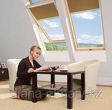 Мансардное окно 78х98 FAKRO в комплекте с окладом для гибкой черепицы тел. Whats Upp. 87075705151