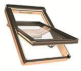 Мансардное окно 78х98 FAKRO в комплекте с окладом для гибкой черепицы тел. Whats Upp. 87075705151, фото 2