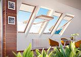 Мансардное окно 78х98 FAKRO в комплекте с окладом для гибкой черепицы тел. Whats Upp. 87075705151, фото 3