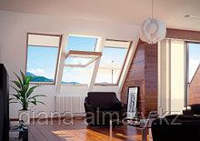 Мансардное окно 78х98 FAKRO (в комплектес окладом на металлочерепицу, профлист)