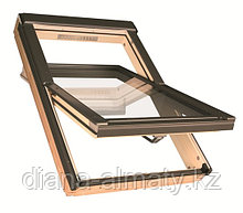 Мансардное окно 78х140 FAKRO (в комплекте с окладом на металлочерепицу) тел. Whats Upp. +7 707 5705151
