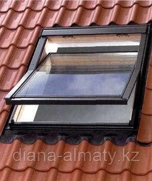 Мансардное окно 66х118 FAKRO (в комплектес окладом на металлочерепицу, профлист)
