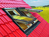 Мансардное окно 66х118 FAKRO (в комплектес окладом на металлочерепицу, профлист), фото 2