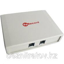 Система записи и регистрации телефонных переговоров SpRecord A2 (адаптер + программа