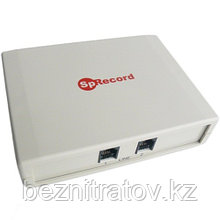 Оборудование для записи и регистрации телефонных разговоров SpRecord AT2 (адаптер + программа)
