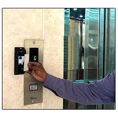 Система контроля доступа (СКУД) в лифт