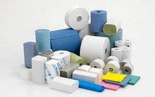 Бумажные салфетки, полотенце, туалетная бумага
