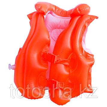 58671 Intex Жилет оранжевый 3-6 лет